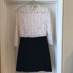Sandro lace cocktail dress